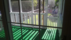27 - old screened porch